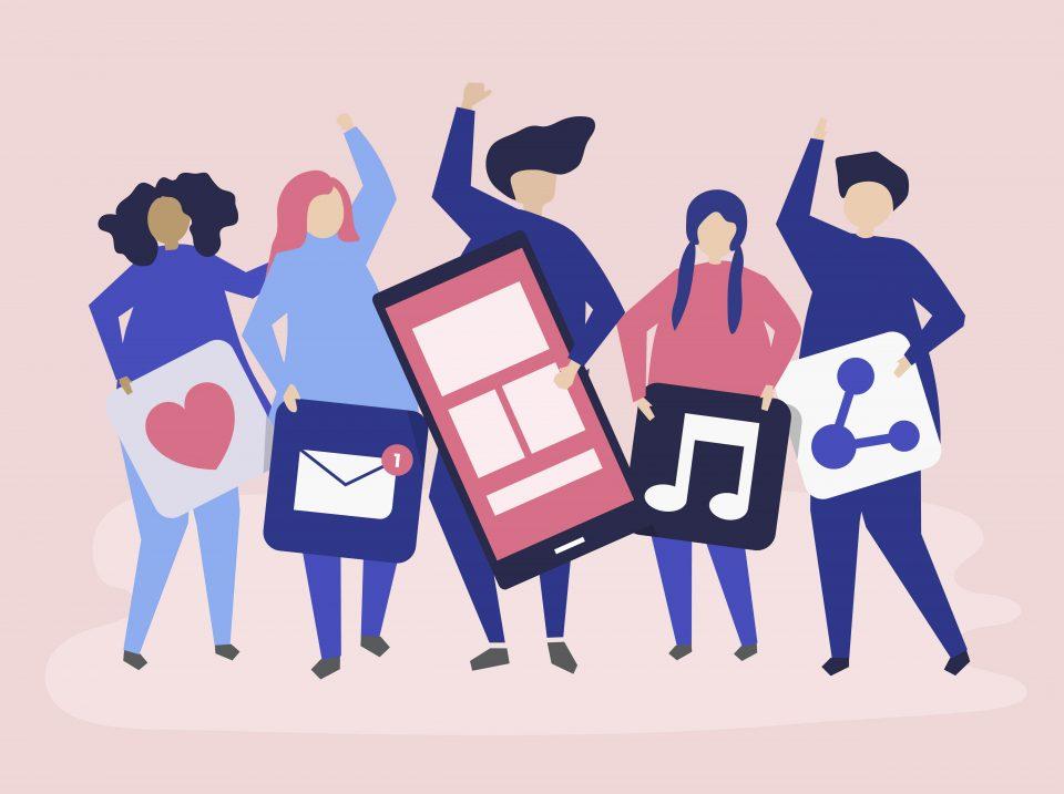 Redes sociais - empresas